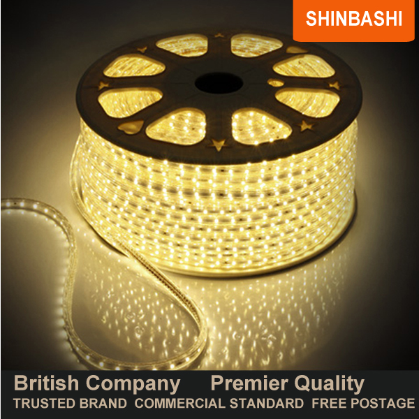Premier ip67 230v warm white smd 3528 led ribbon strips rope warmwhite smd aloadofball Images